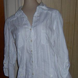 No Boundaries Shirt, Sheer Shirt, Wrinkle Shirt